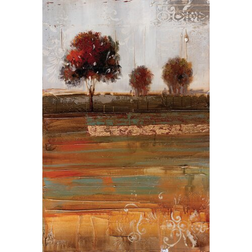 Wildon Home ® Driving Along The Countryside 2 Piece Painting Print Set