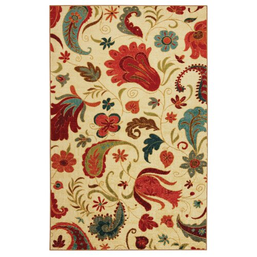 Wildon Home ® Yellow Tropical Acres Rug
