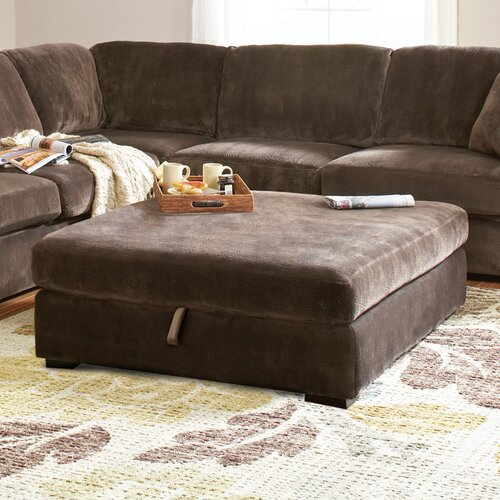 Wildon Home ® Bromley Storage Ottoman