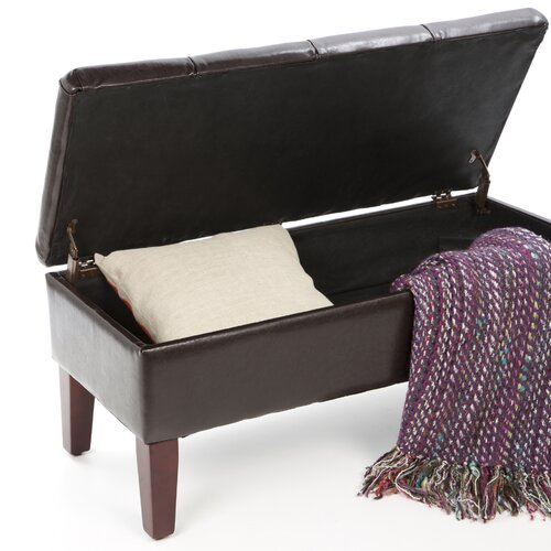 Wildon Home ® Brookings Bedroom Storage Bench
