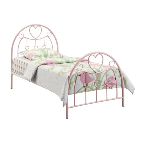 Wildon Home ® Romeo Twin Metal Bed
