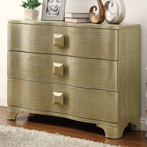 Wildon Home ® Accent Cabinet With 3 Drawers
