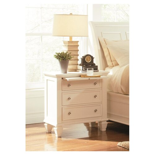 Wildon Home ® Glenmore 3 Drawer Nightstand