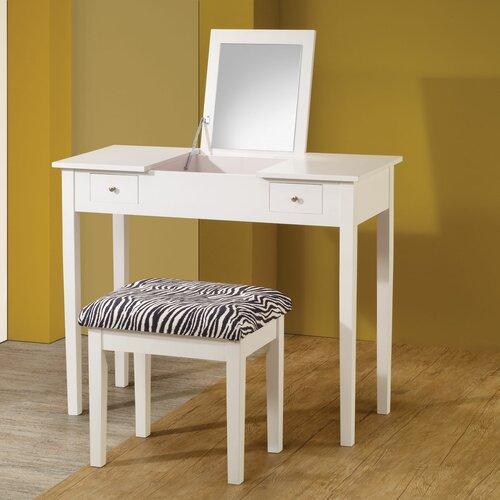 Wildon Home ® Vanity Set with Mirror