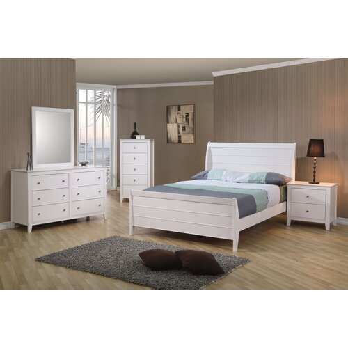 Wildon Home ® Twin Lakes Sleigh Bed
