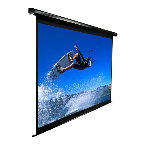 Elite Screens VMAX2 Series Matte White Electric Projection Screen
