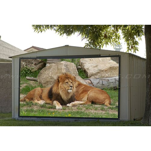 Elite Screens Portable DynaWhite Projection Screen