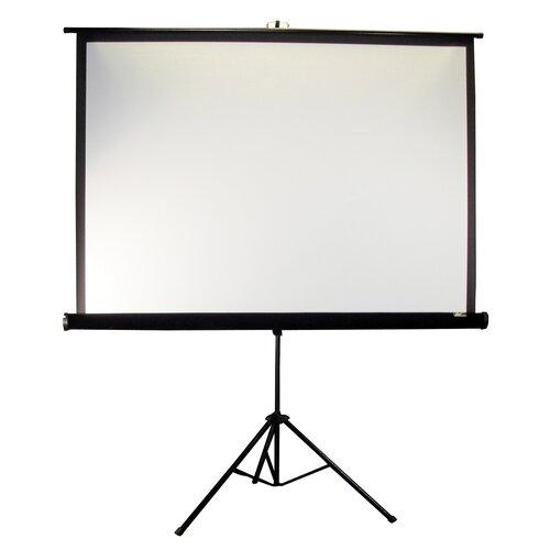 "Elite Screens Tripod Series MaxWhite 92"" Diagonal Portable Projection Screen"