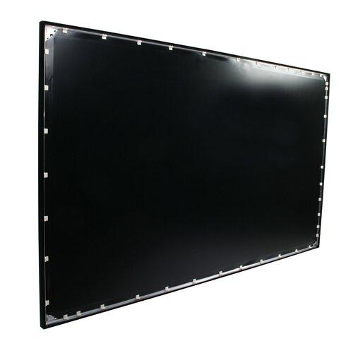 "Elite Screens ezFrame 92"" diagonal Fixed Frame Projection Screen"