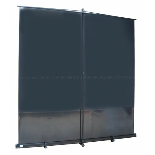 "Elite Screens MaxWhite 100"" Electric Projection Screen"