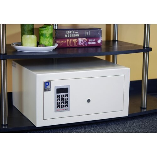 Electronic Lock Commercial Drawer Safe 0.04 CuFt
