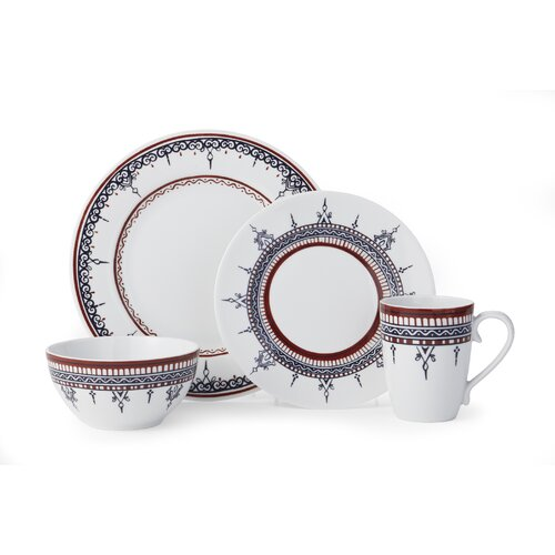 Padma 16 Piece Dinnerware Set