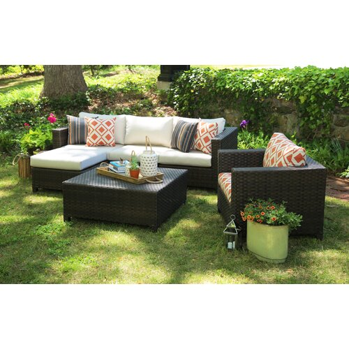 Biscayne outdoor furniture wayfair for Outdoor furniture wayfair