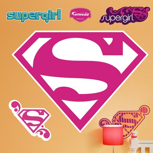 Supergirl Logo Wall Decal