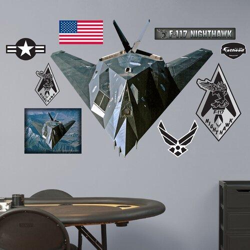 Military F-117 Nighthawk Wall Decal