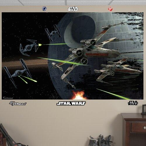 pics photos star wars wall mural