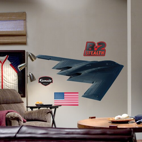 B-2 Stealth Bomber Wall Decal
