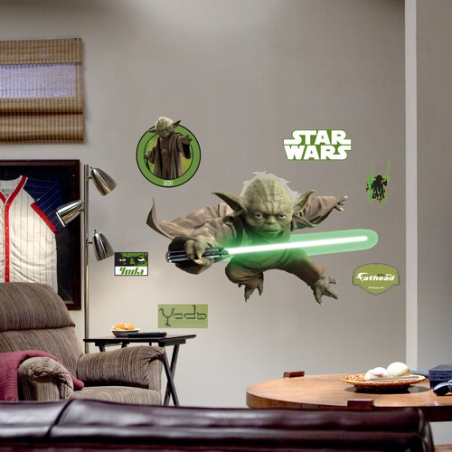 Fathead Yoda Wall Decal