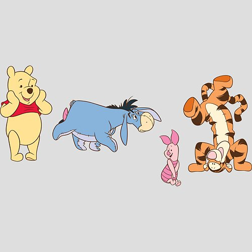 Fathead Winnie the Pooh & Friends Wall Decal