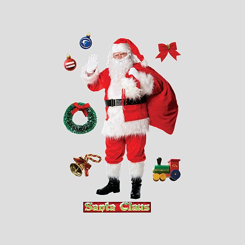 Fathead Santa Claus Wall Decal