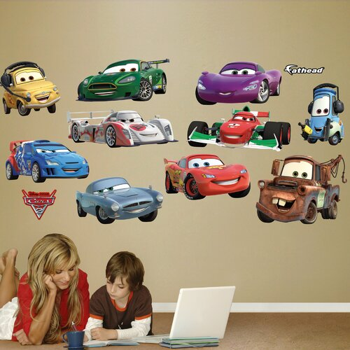 Fathead Disney Pixar Cars Wall Decal