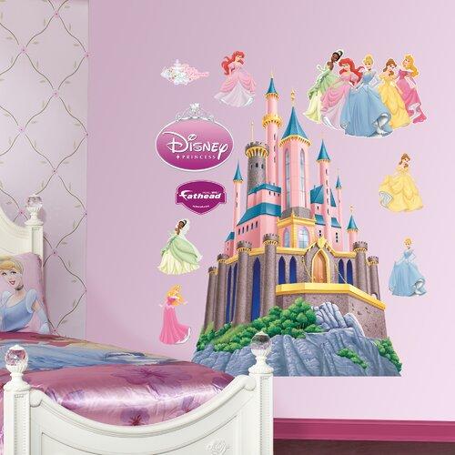 Disney Princess Castle Cartoon Disney Princess Castle Wall