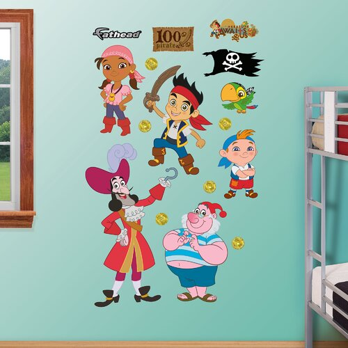 Disney Jake & The Neverland Pirates Wall Decal