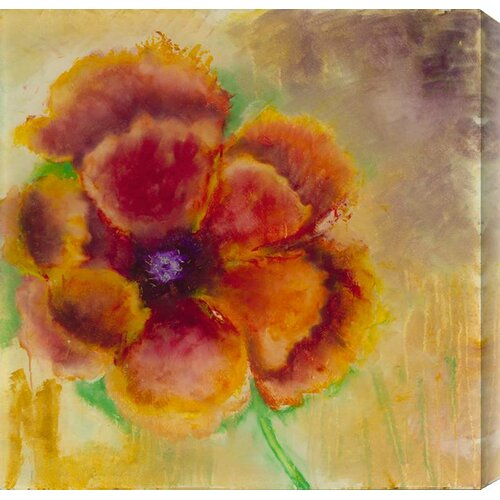 Blossom on Gold by Katherine Houston Wall Art