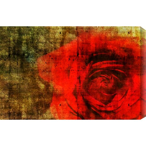The Allure of a Rose by Brett Pfister Painting Print Canvas