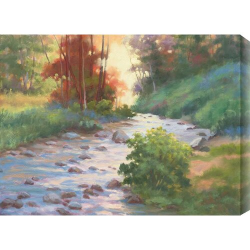 Whispers of Fall I by Rose Hohenberger Painting Print Canvas