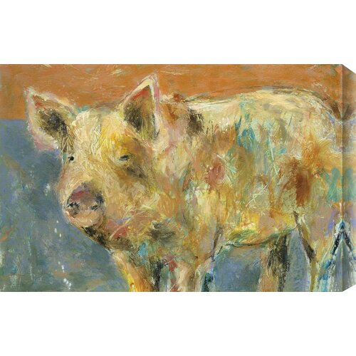 'Cob Roller' by St. John Painting Print on Wrapped Canvas