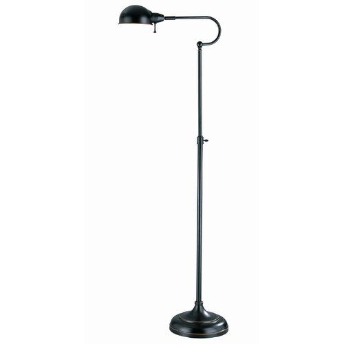 Lite Source Classic Metal Reading Floor Lamp