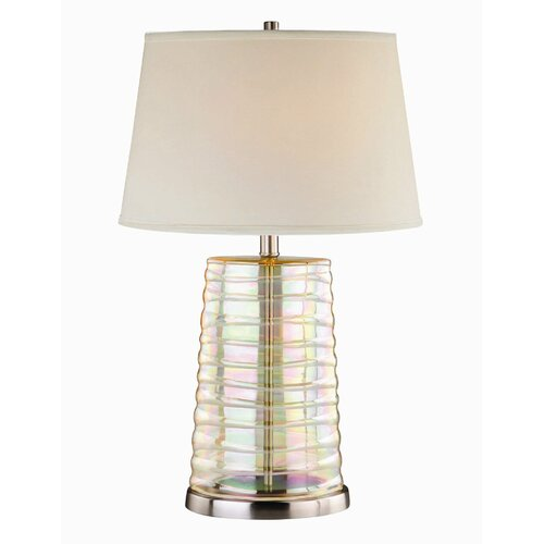 "Lite Source Tecza II 12.2"" H Table Lamp"