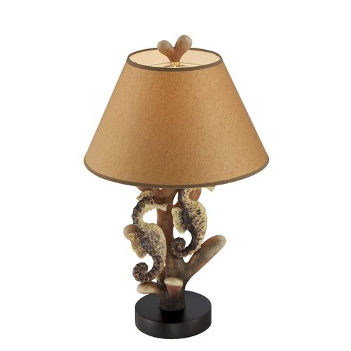 Seahorse 26 5 h table lamp with empire shade wayfair for Table lamps under 50