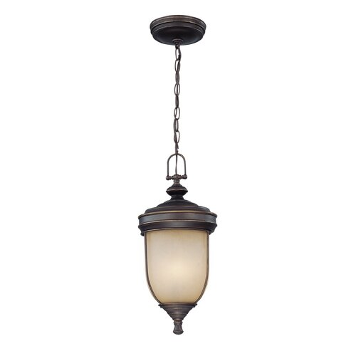 Lite Source Shanton 3 Light Outdoor Pendant Lamp