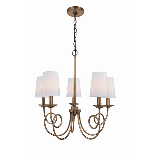 Lite Source Erika 5 Light Chandelier
