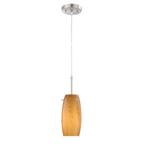 Lite Source Lotte 1 Light Mini Pendant