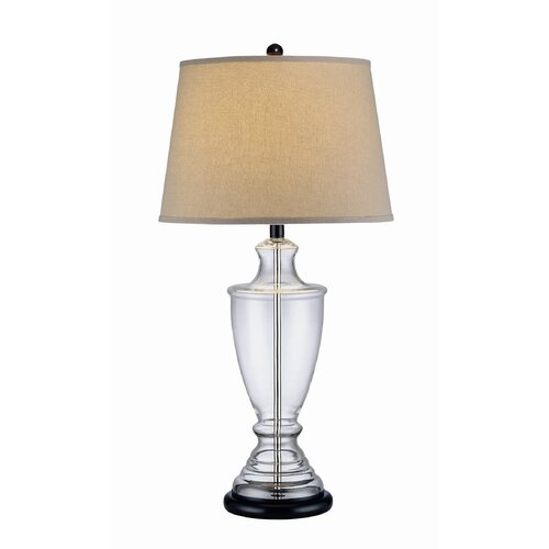 "Lite Source Norbert 32.5"" H Table Lamp with Empire Shade"