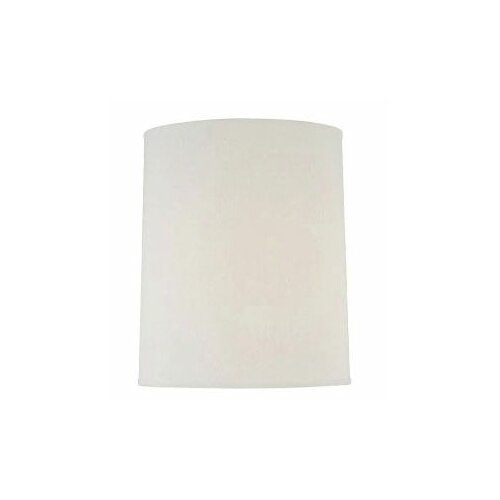 Fine Linen Cylinder Lamp Shade in Off White
