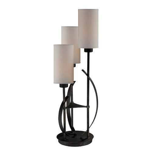 """Lite Source Godana 30.25"""" H Table Lamp with Drum Shade"""