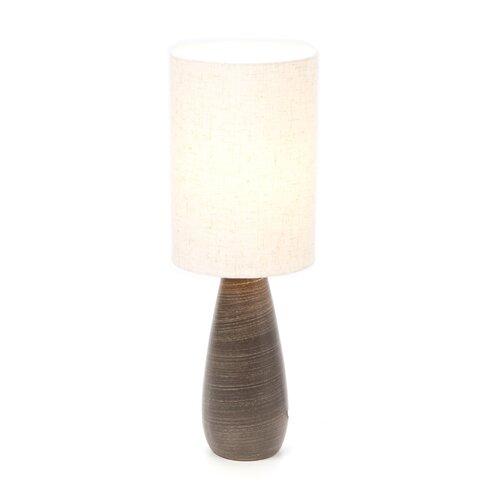 """Lite Source Quatro Mini 17.5"""" H Table Lamp with Drum Shade"""
