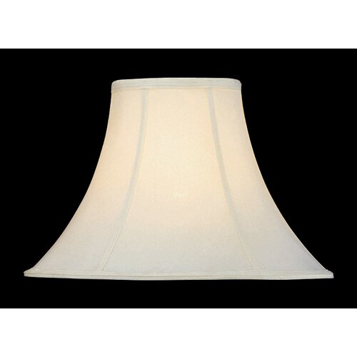 "Lite Source 16"" Shantung Bell Shade"