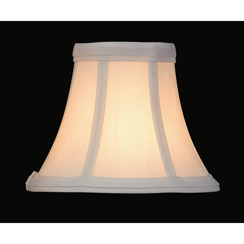 Lite Source Candelabra Lamp Shade in White