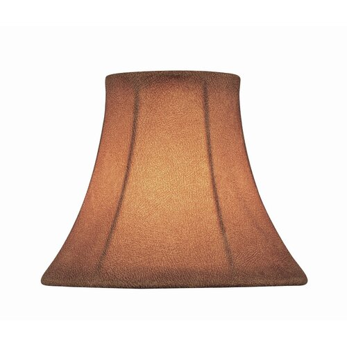 "Lite Source 6"" Fabric Candelabra Bell Shade"