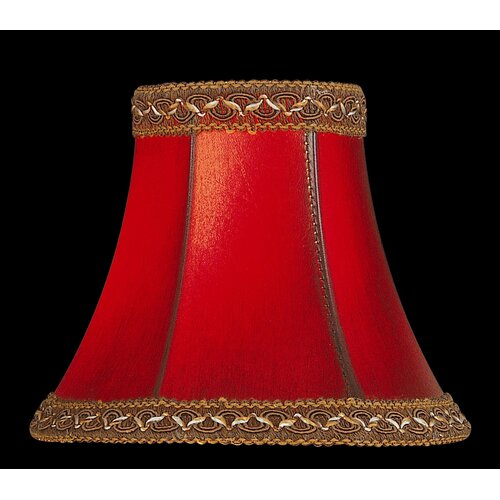 """Lite Source 6"""" Faux Leather Chandelier Shade"""