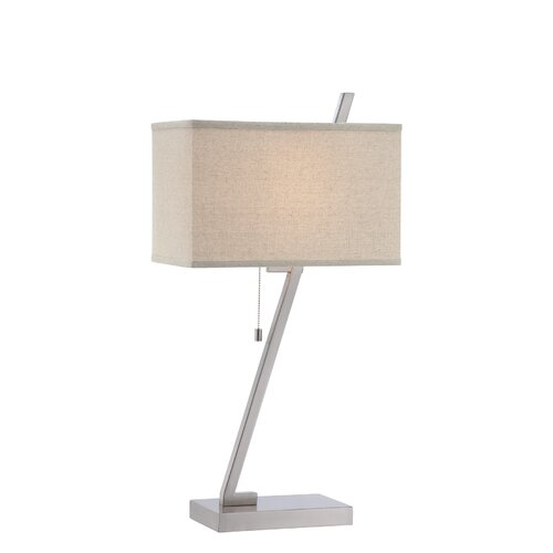 "Lite Source Riza 27.5"" H Table Lamp with Rectangle Shade"