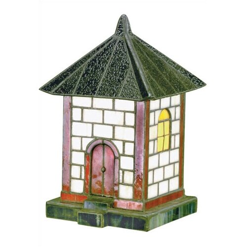 """Lite Source Pagoda Tiffany 19.5"""" H Accent Table Lamp"""
