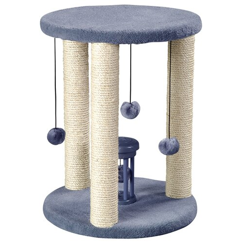 "Whisker World 22"" Sisal Duplex Scratching Post"