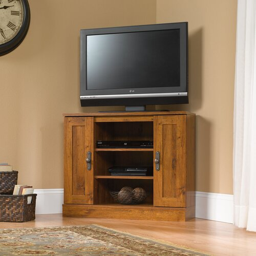 "Hazelwood Home 36"" Corner TV Stand"