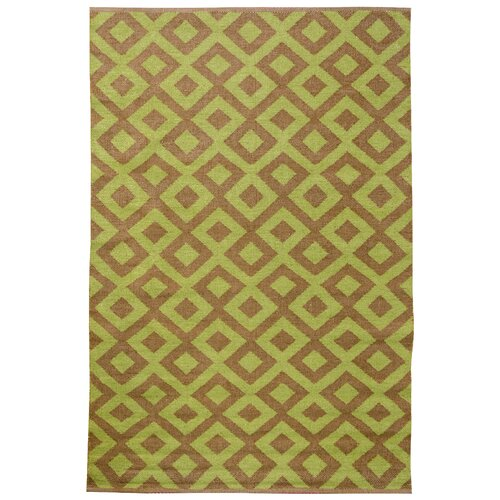 Tile Cacao/Sage Outdoor Rug
